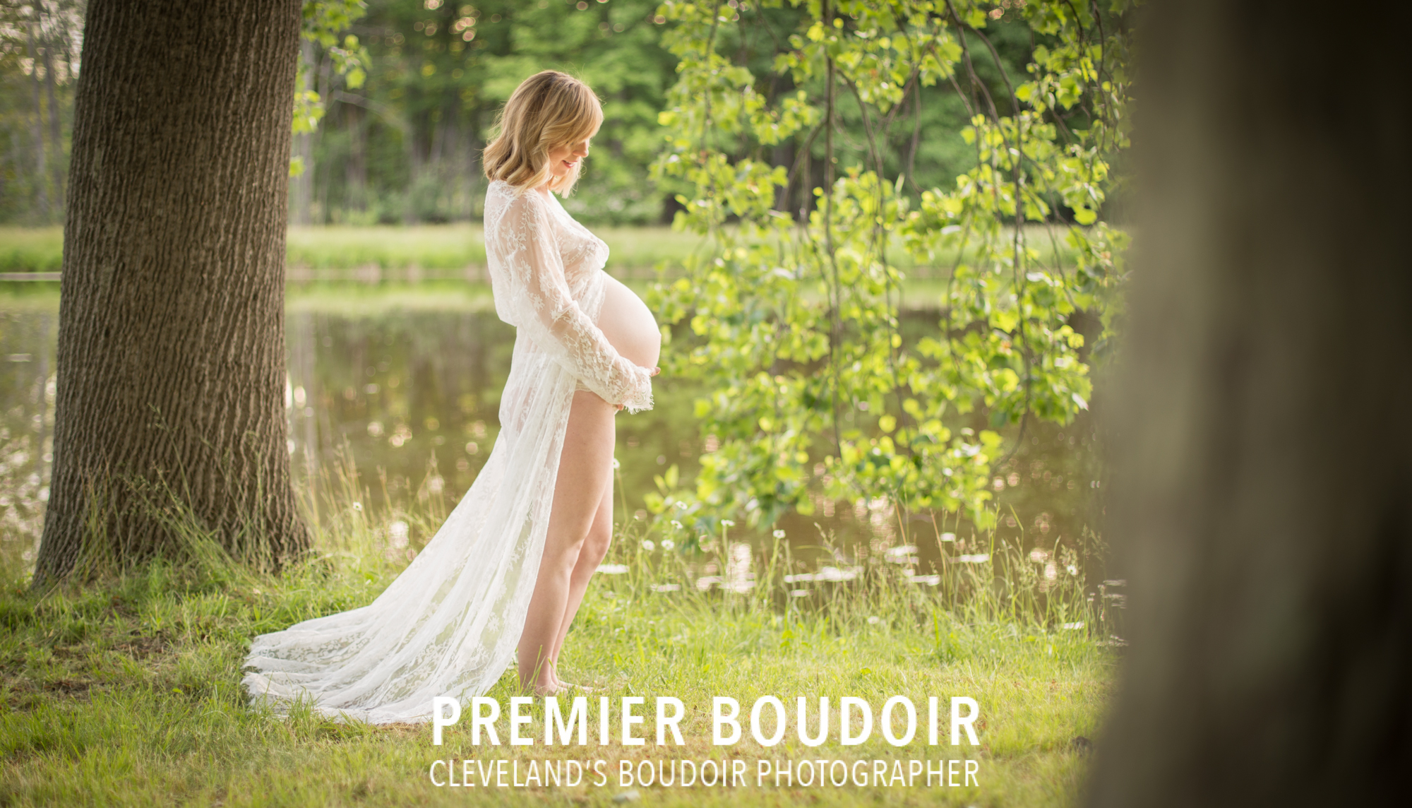 cleveland akron maternity boudoir outdoors classy