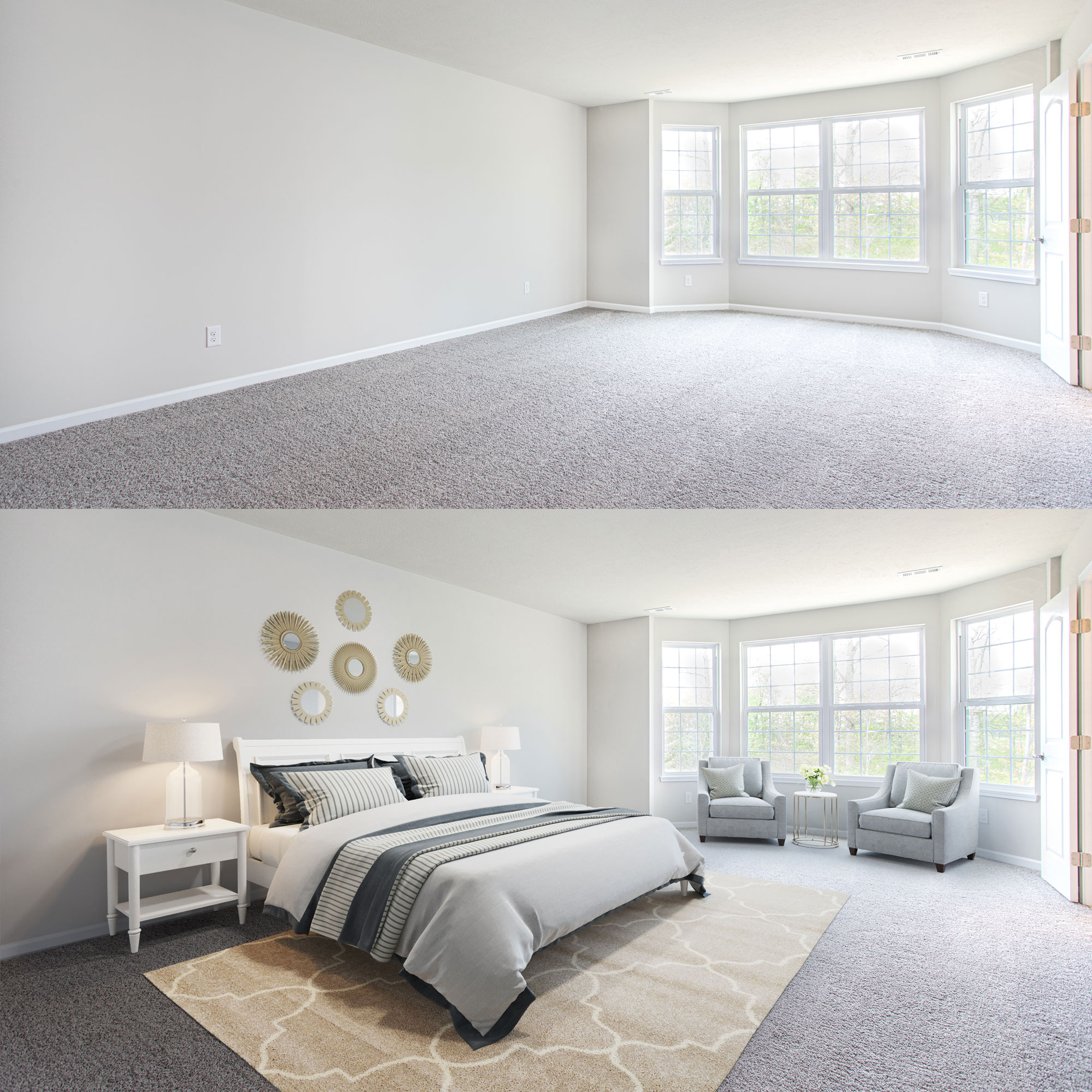 Cleveland + Akron Architecture photography builder model virtual staging