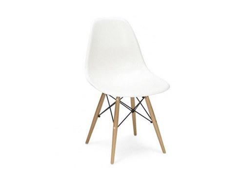 DSW white chair