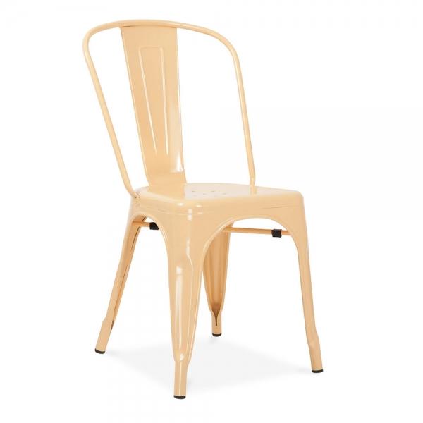 peach cafe chair