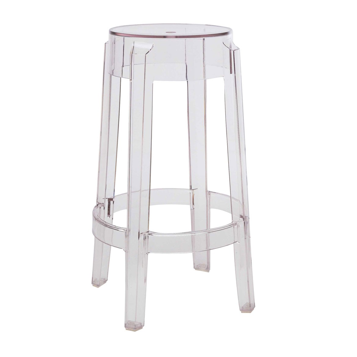 transparent ghost stool