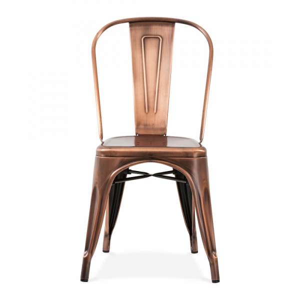 copper cafe chair