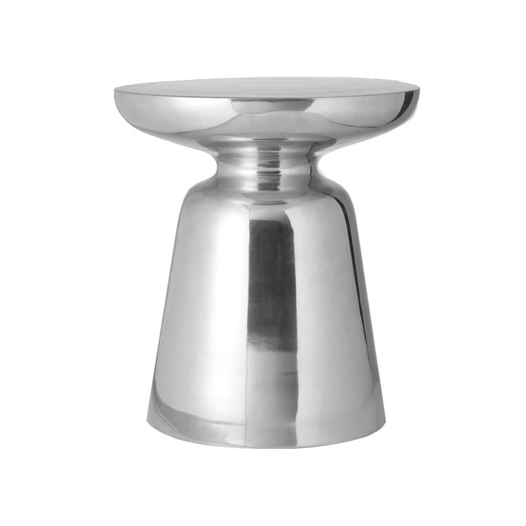 silver martini table