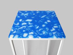 Blue skies - recycled plastic