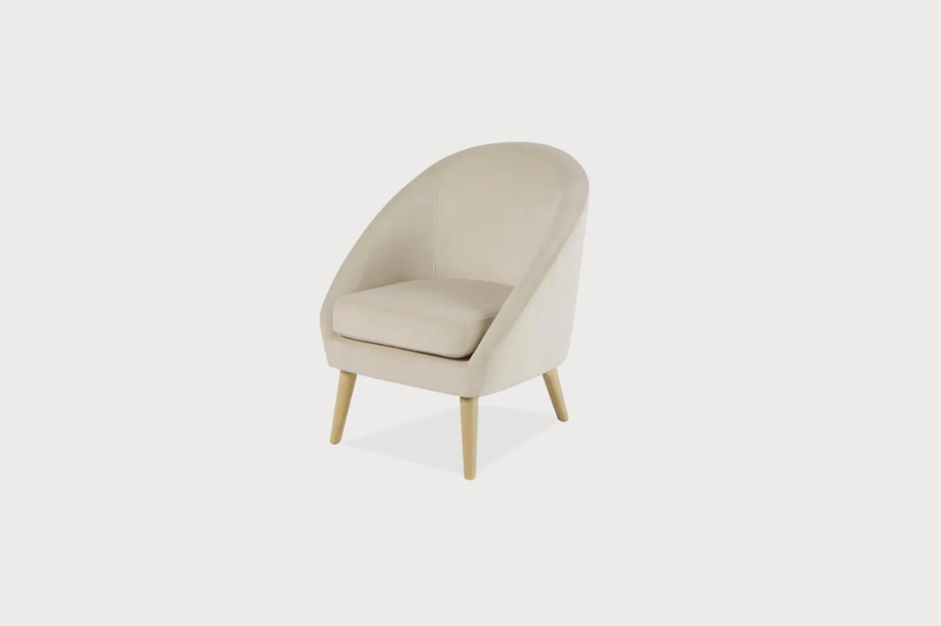 Hub chair, cream.png