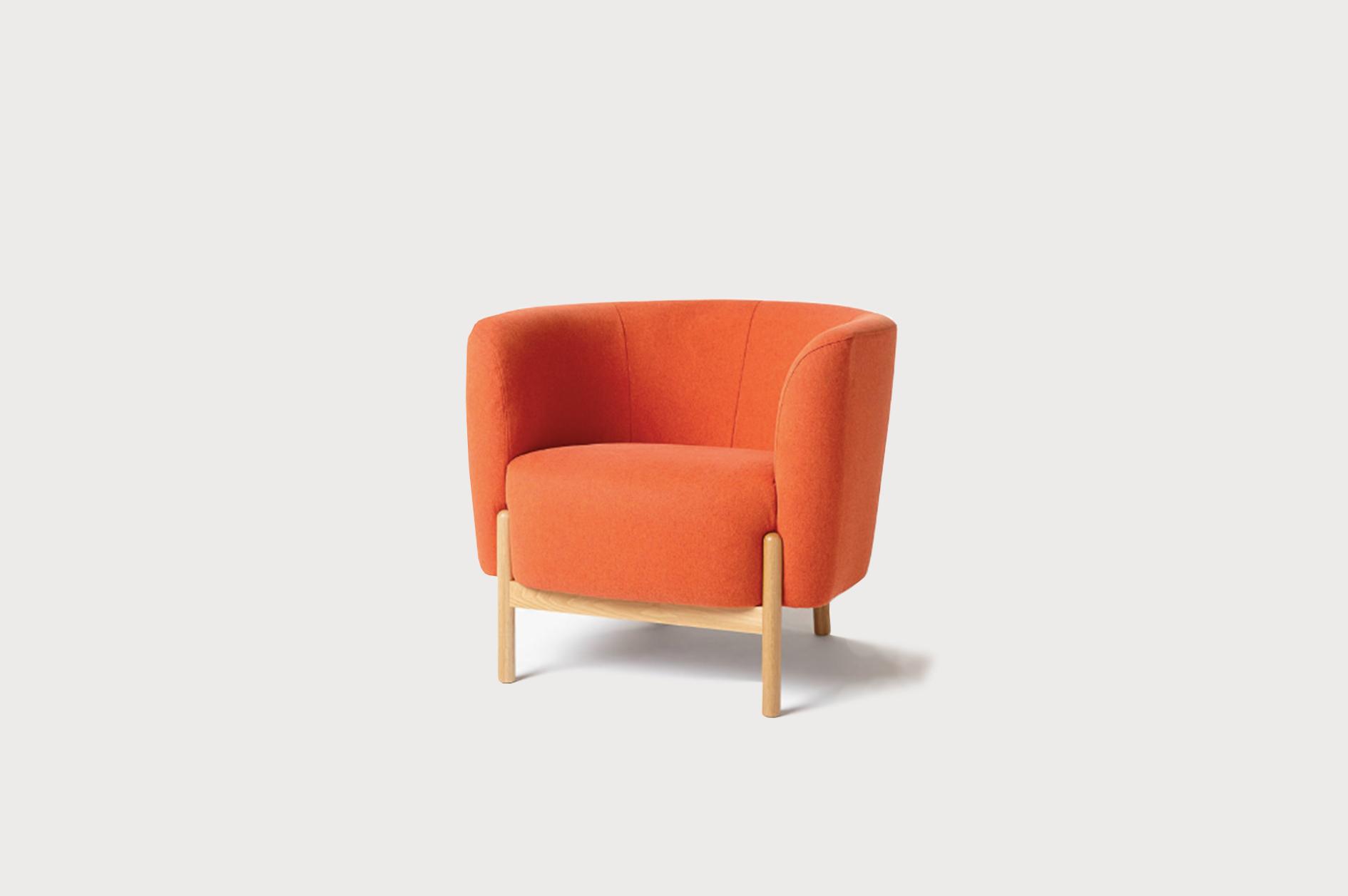 chub chair orange