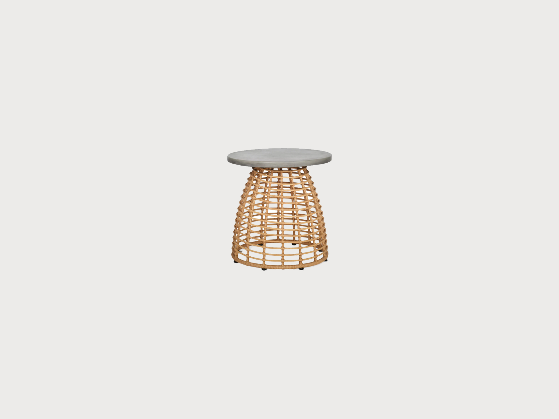 Bamboo wicker table