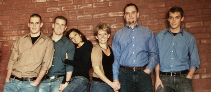 The Baum Family    Pictured Left To Right  (Casey, JD, Jade, Shelley, Al, Christian)