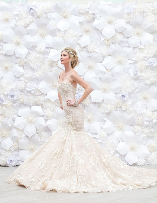 Paper Flower Wedding Wall Houston Paper Flowers