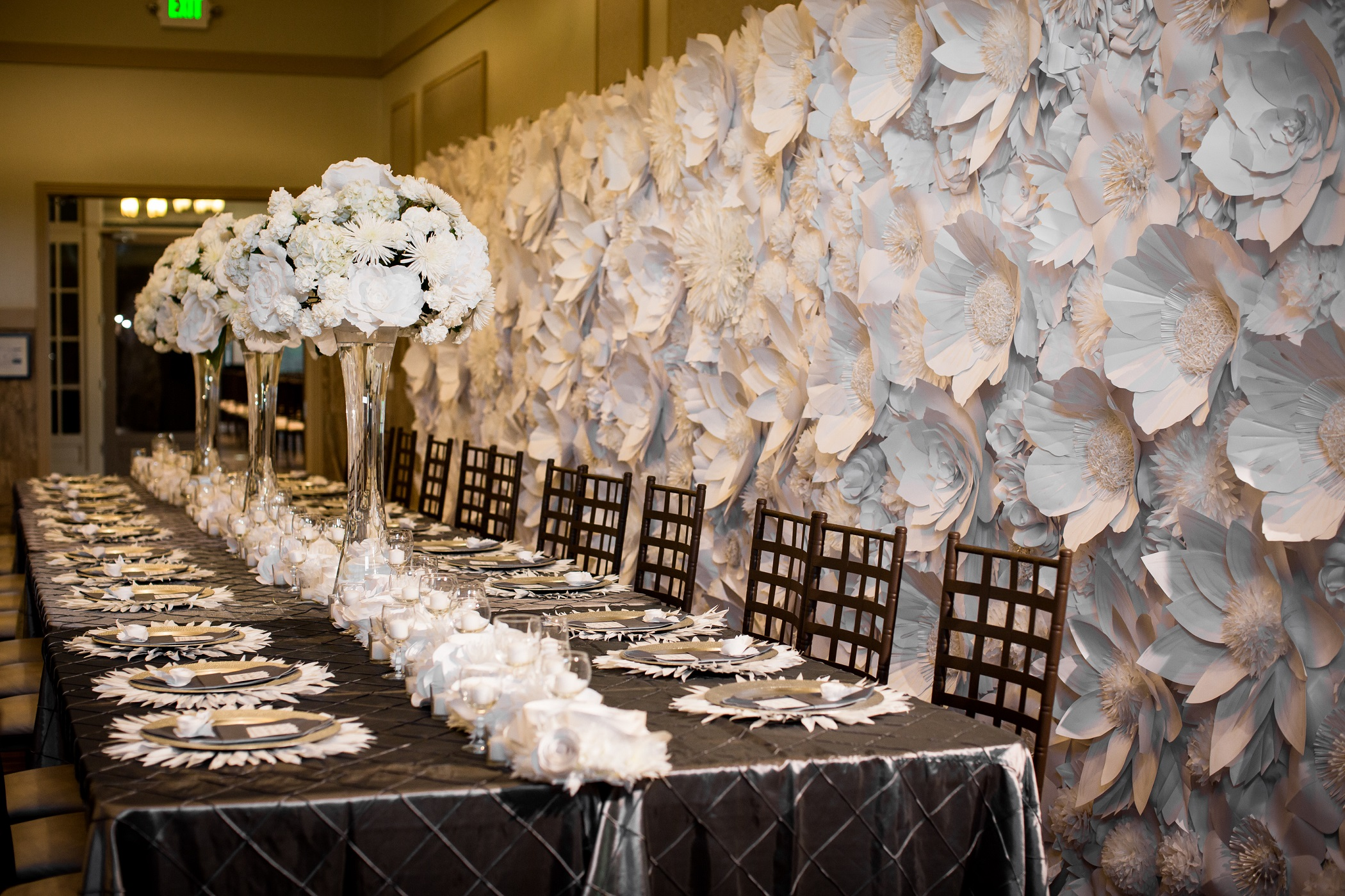 Head Table Paper Flowers Large White Backdrop.jpg