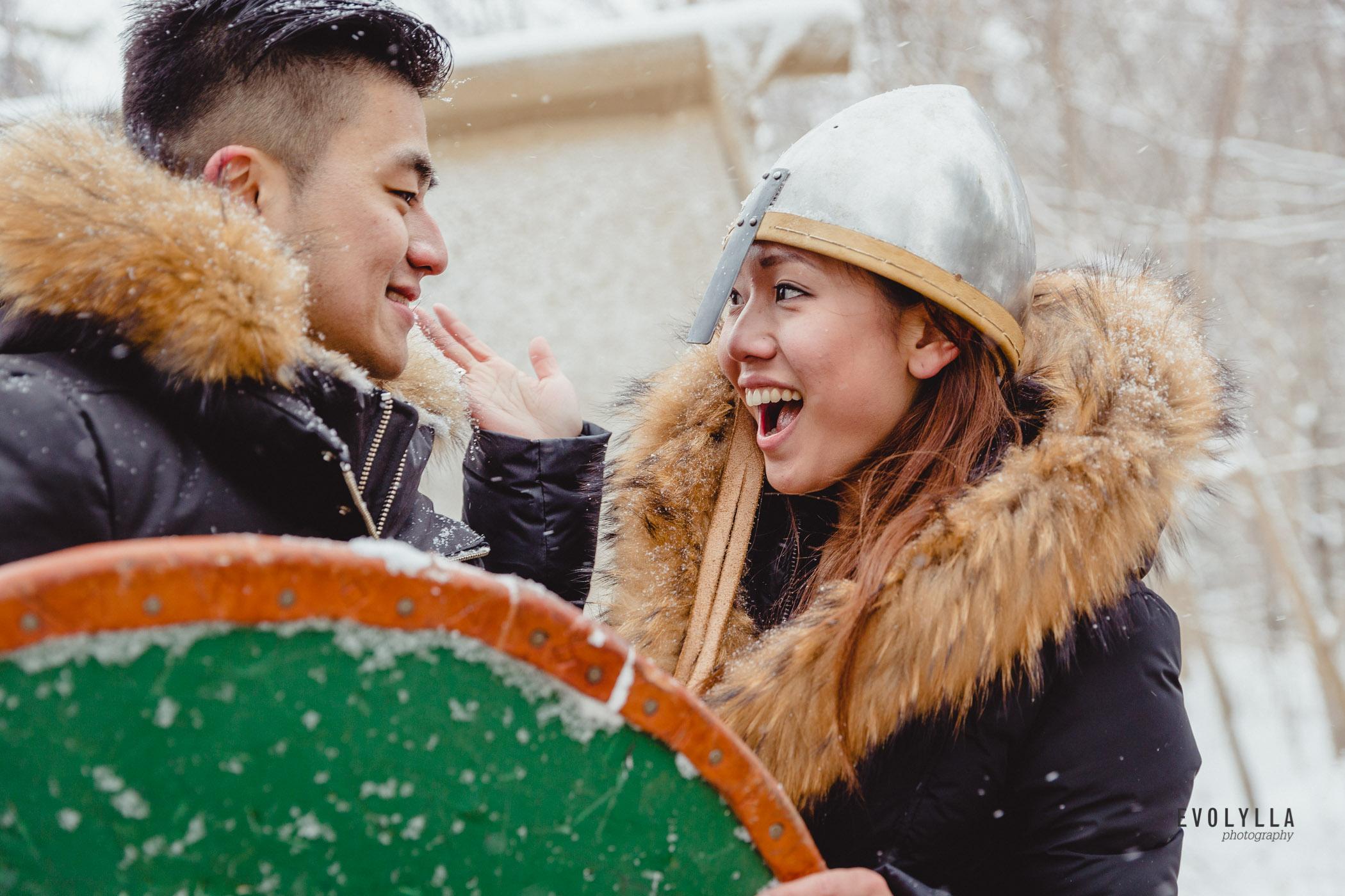 Jessica & Kelvin, Toronto Winter Engagement Snow Portraits, Mill Pond Park-35.jpg