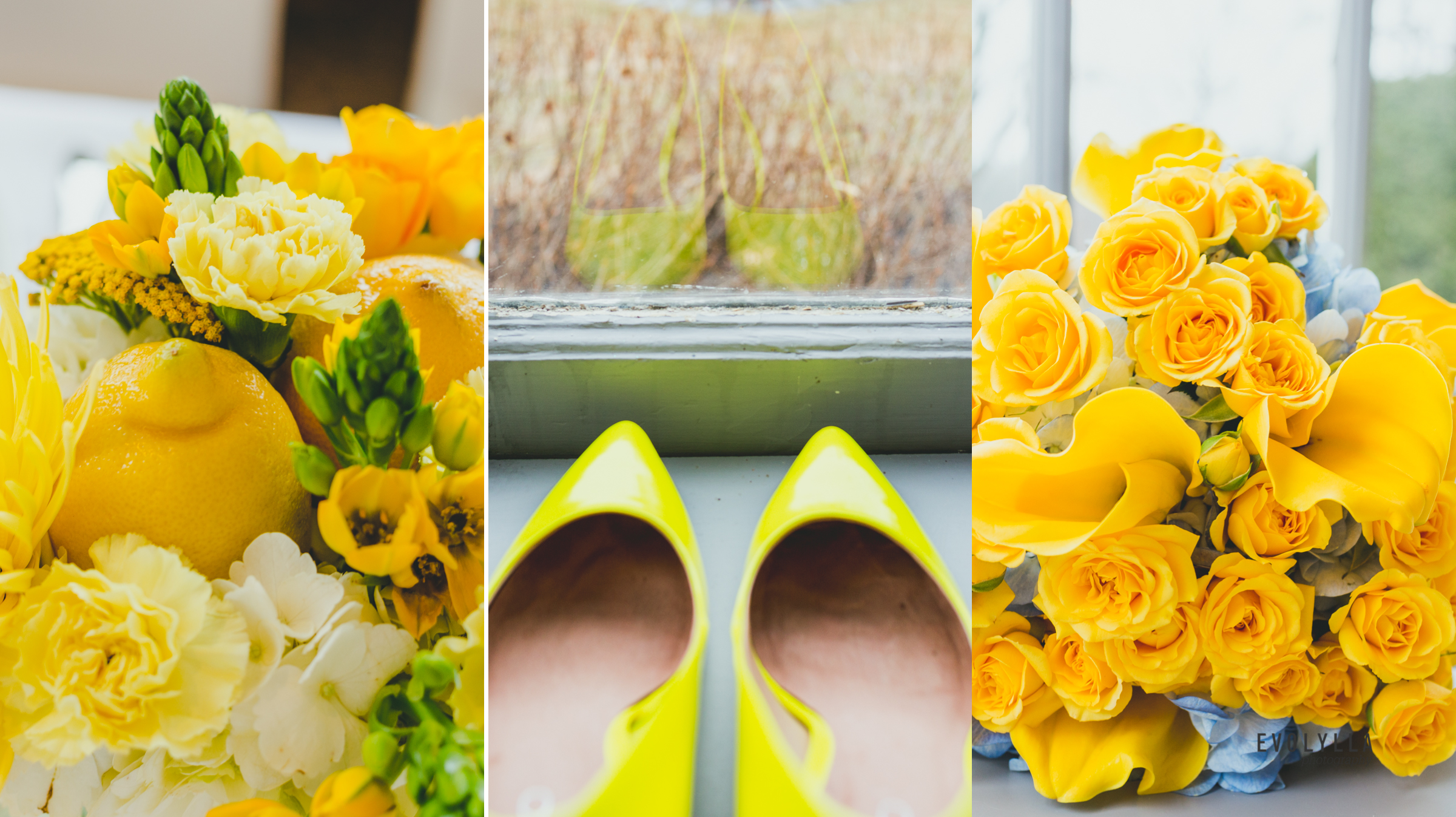 Lemon Party Wedding Theme Idea for Bright and Happy Bride