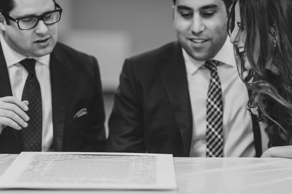 Jewish Wedding Ketubah Signing the Marriage Contract