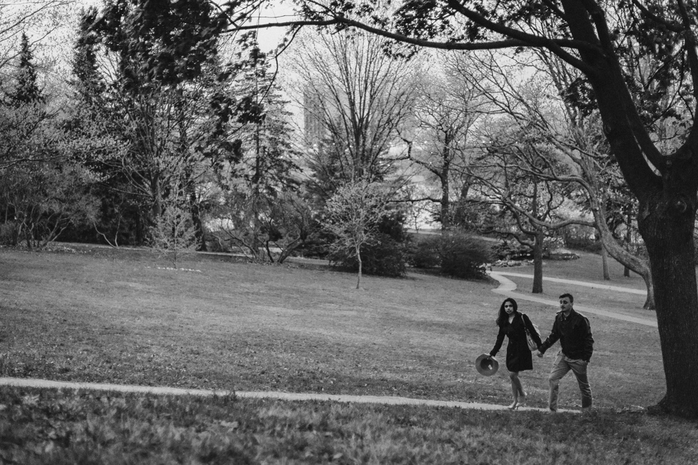 Documentary Style Engagement Photos High Park Toronto