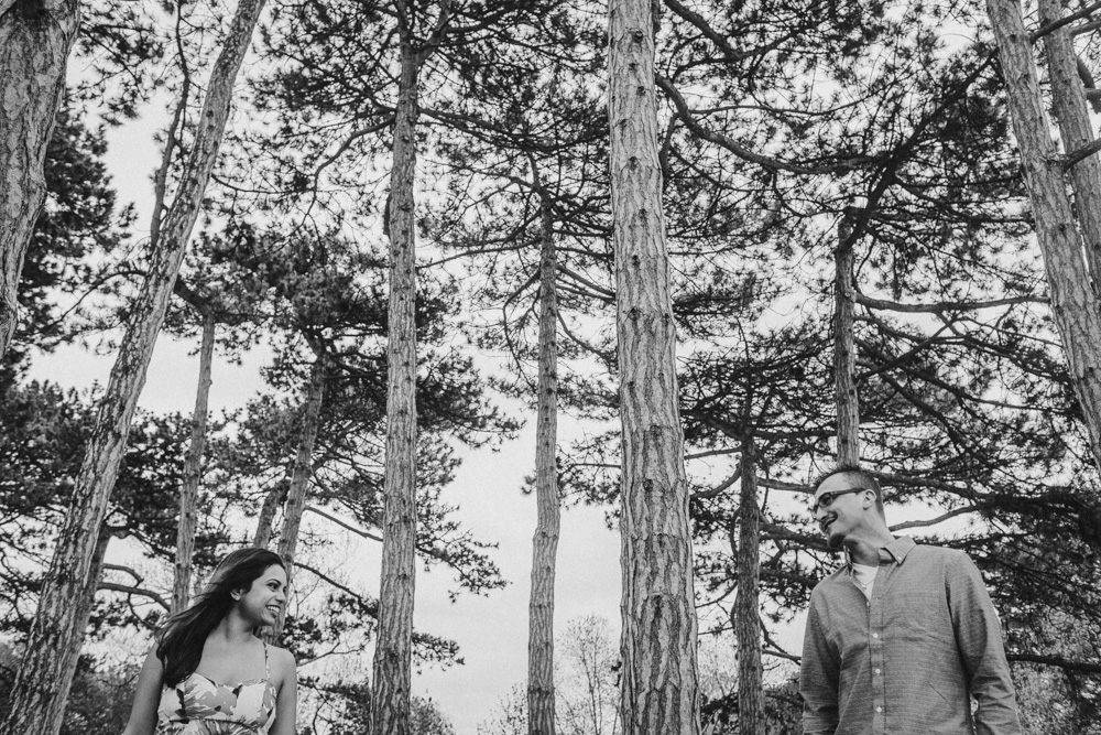 Forest Engagement Photo Idea Editorial Looking