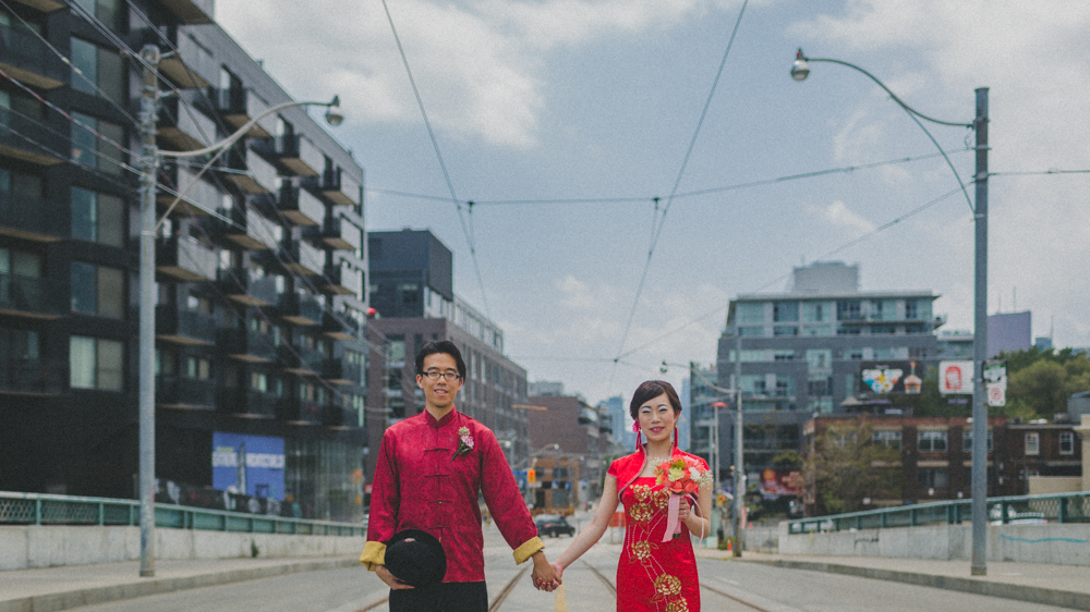 Unconventional Chinese Wedding Portrait Photos