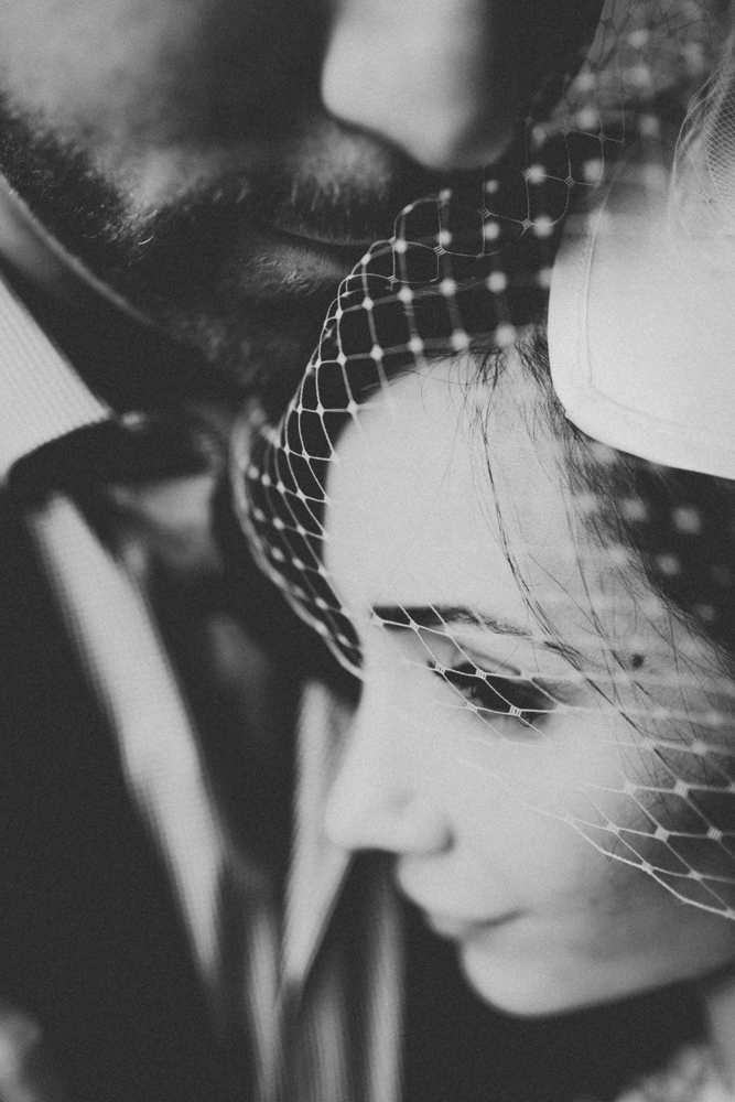 Toronto Black and White Wedding Photos Alternative Moody Wedding Photography