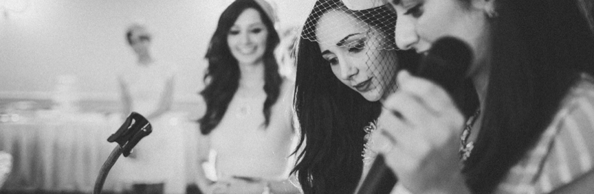 Toronto Black and White Wedding Photos