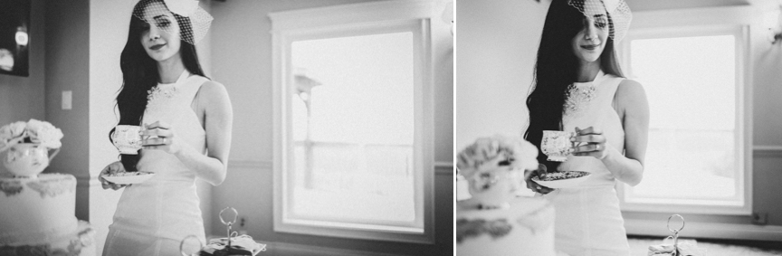 Toronto Black and White Bridal Photos Documentary Wedding Photographer