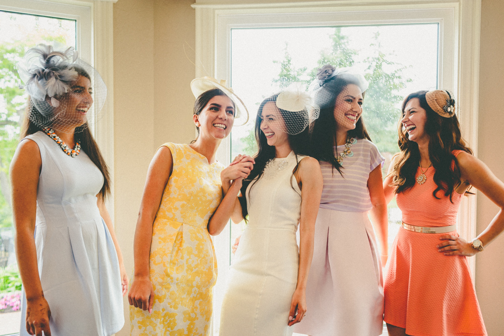 Bridesmaids Photo Ideas Vintage Tea Party