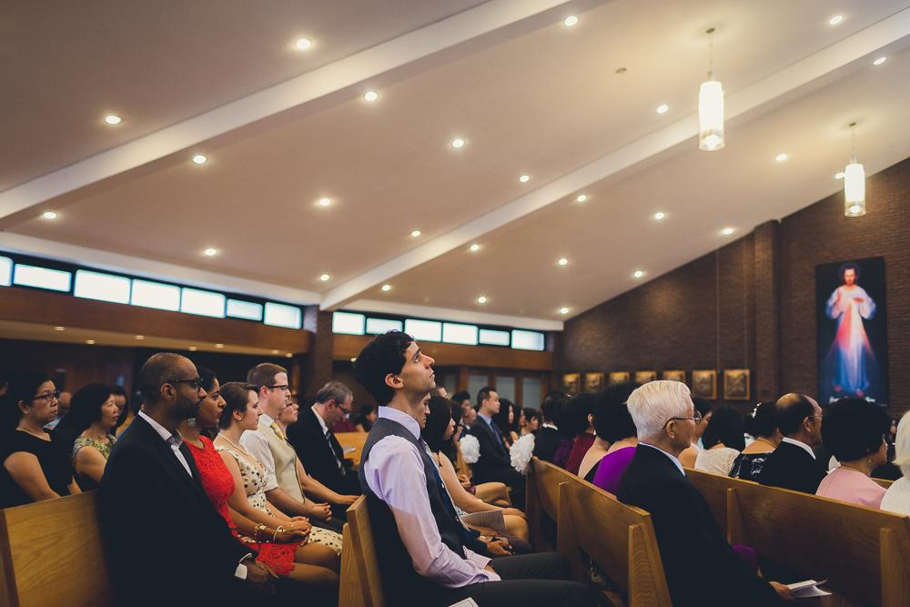 Toronto Weddings Ceremony St Timothy's Catholic Church North York