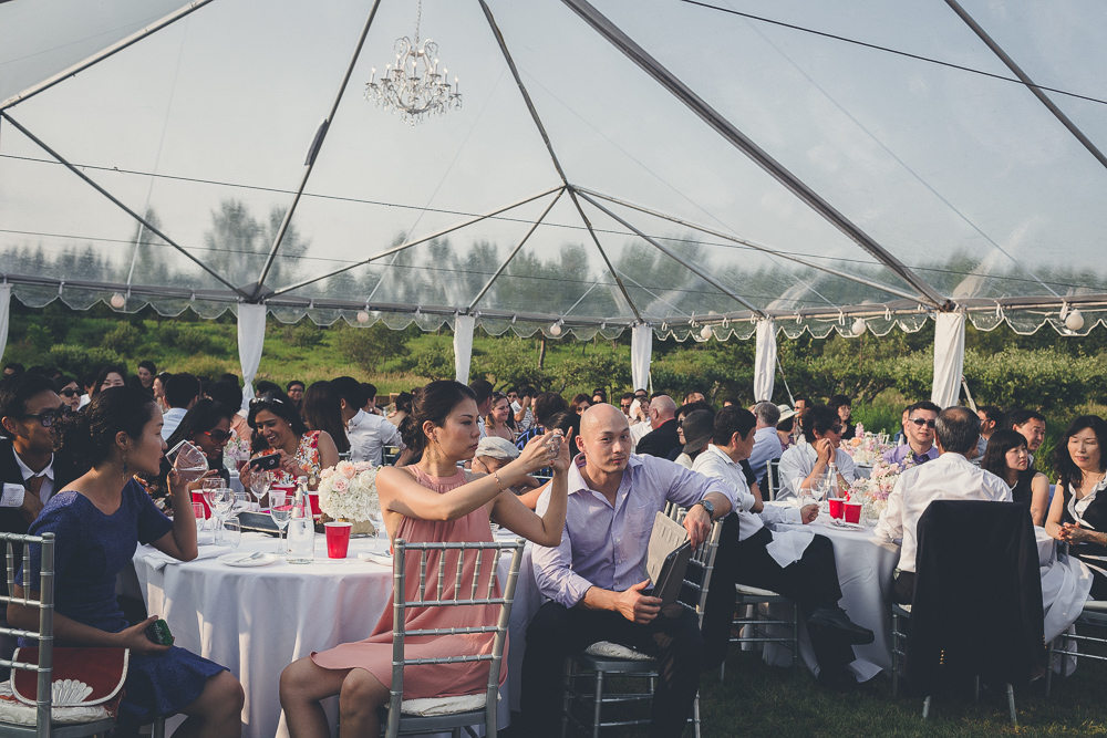Transparent Tent for Outdoor Weddings