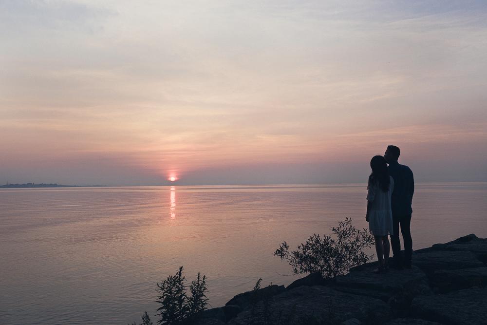 Sunrise Engagement Photos