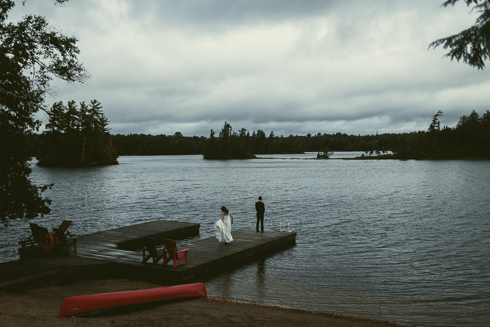 Cottage Wedding Ahmic Lake