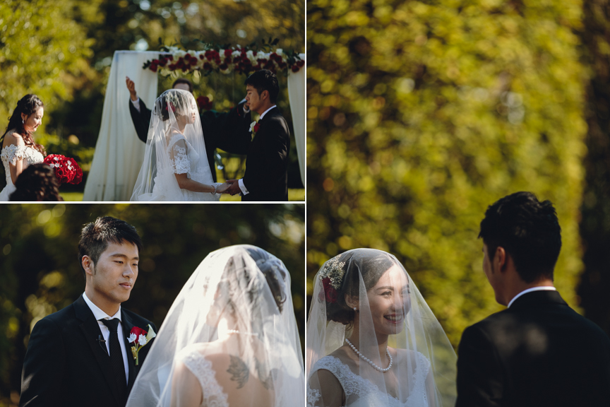 graydon hall outdoor ceremony images