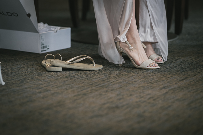 artistic wedding photography in small space