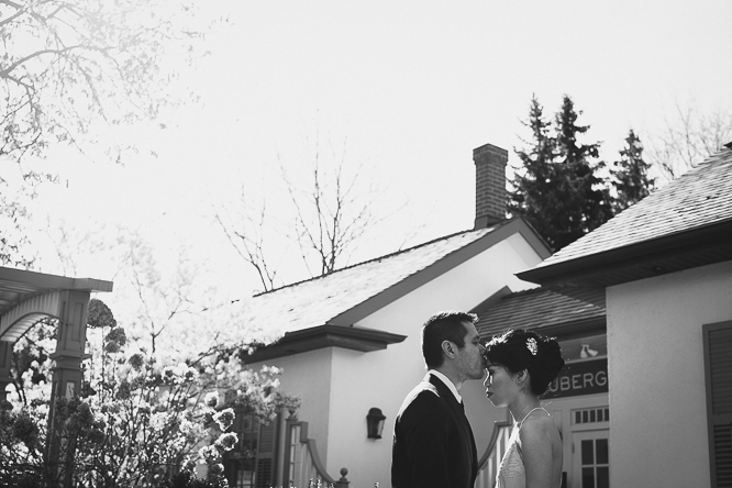 auberge du pommier wedding portraits