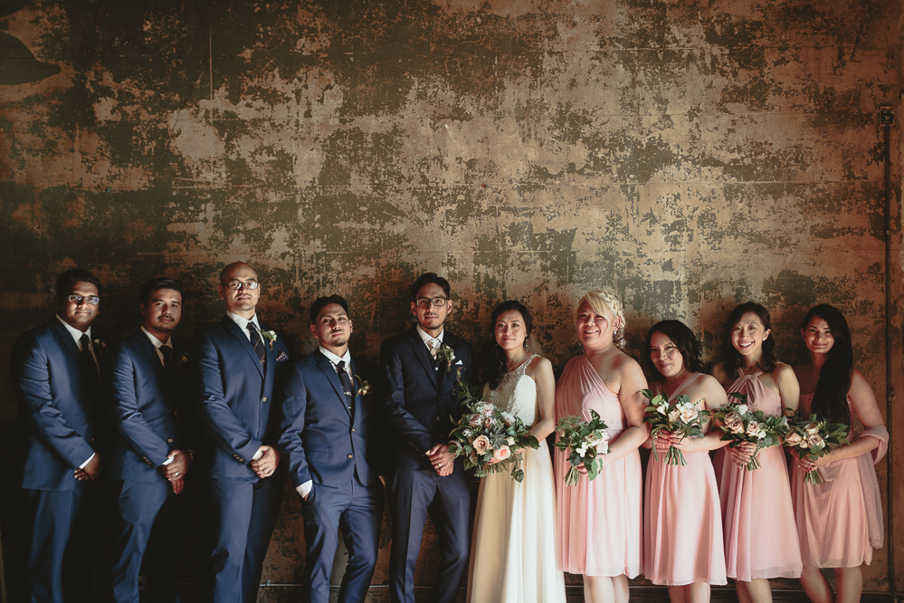 berkeley church rustic wedding