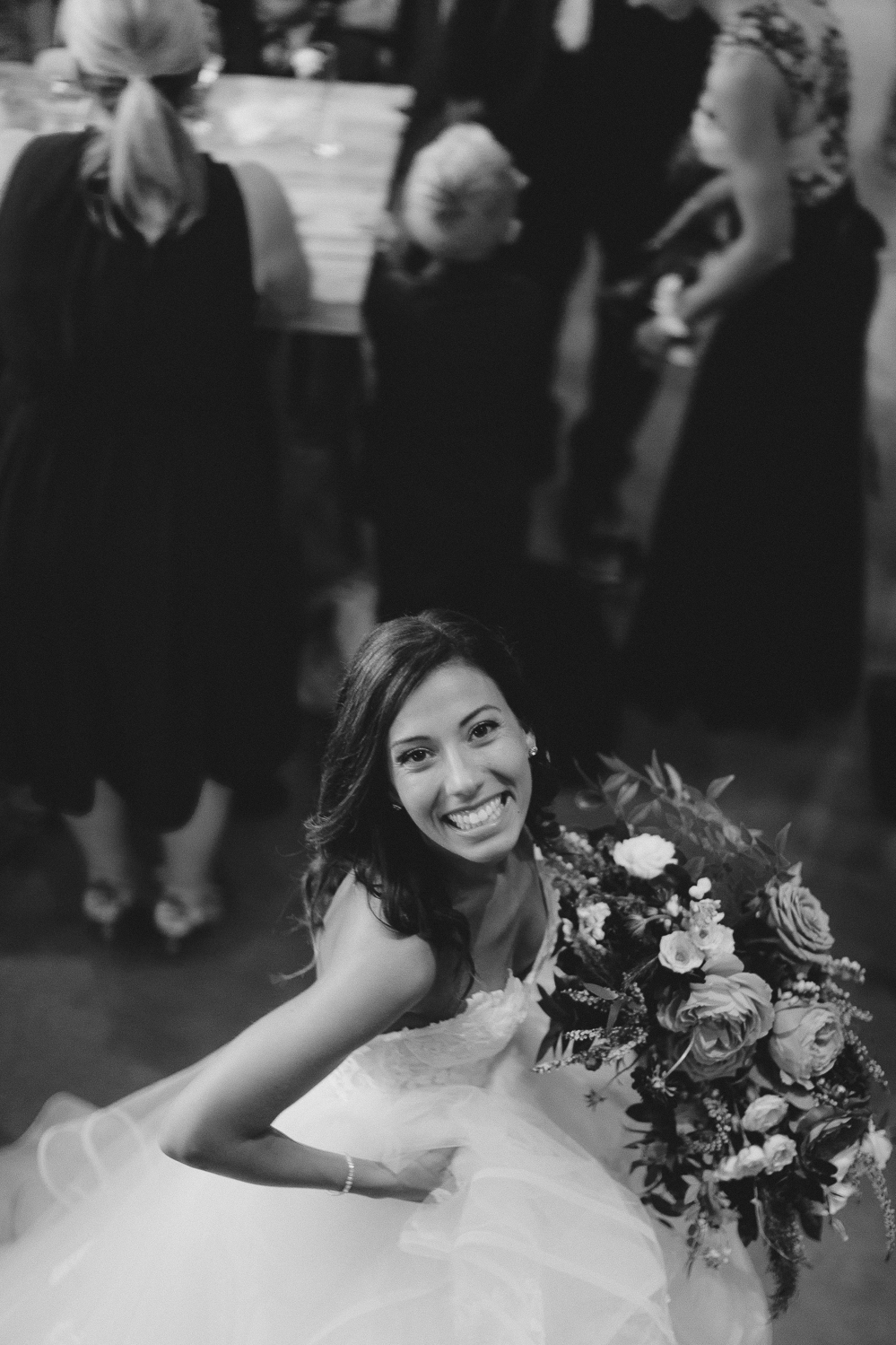 steamwhistle wedding black and white candid photographer