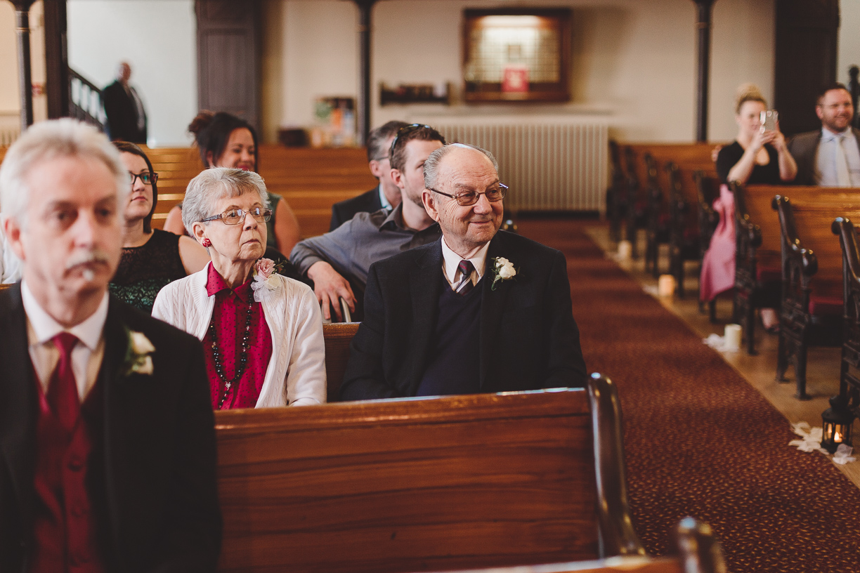 port perry united church wedding ceremony
