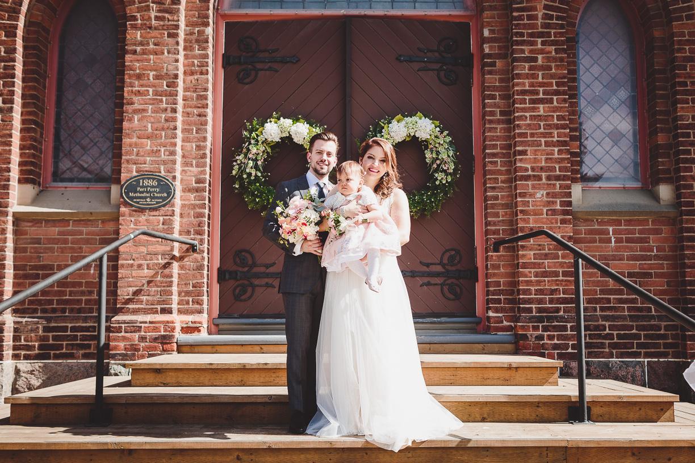 port perry united church wedding