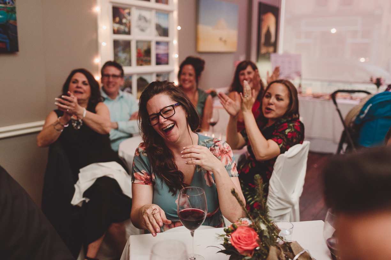 documentary style candid wedding photography