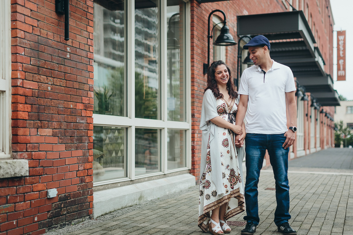 Engagement photos by Toronto Wedding Photographer