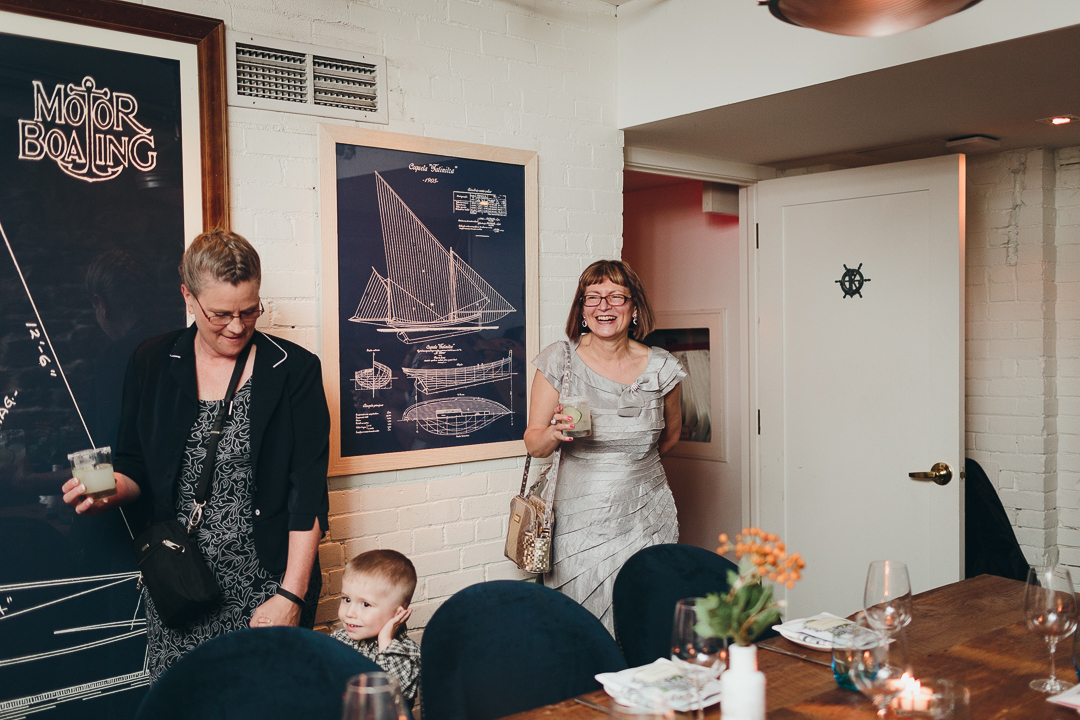 The chase fish and oyster restaurant wedding