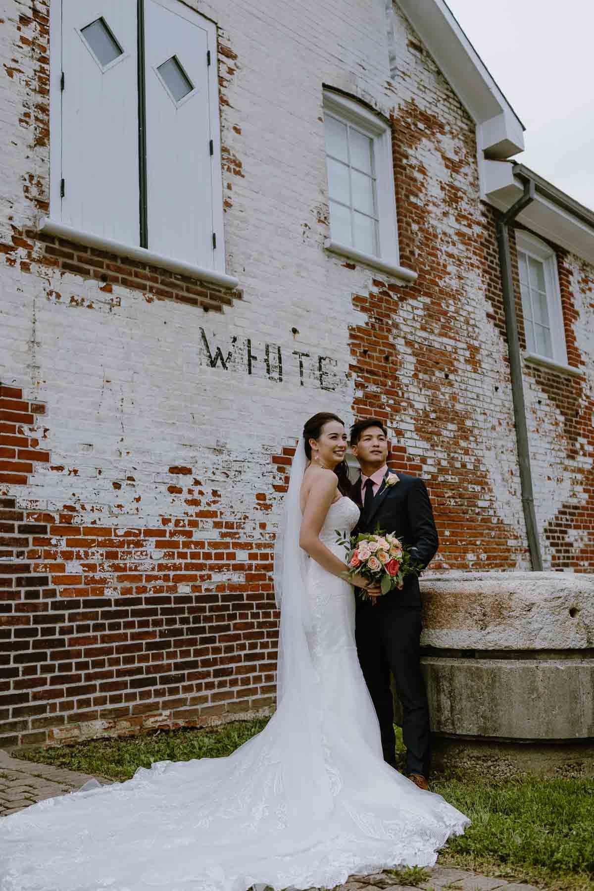 Todmorden Mills Park Wedding Photos