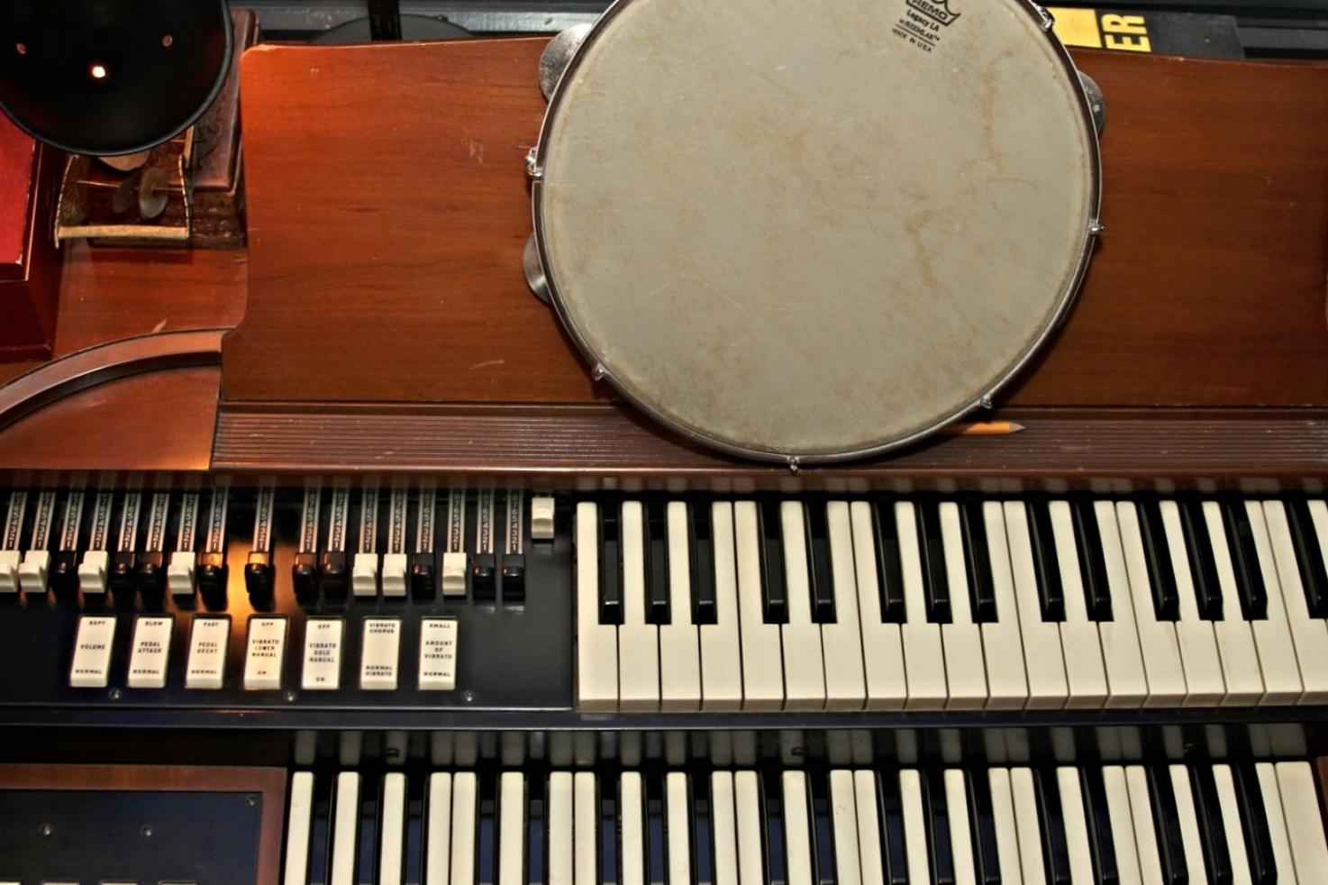 1950's Hammond M-3 organ (baby B-3)