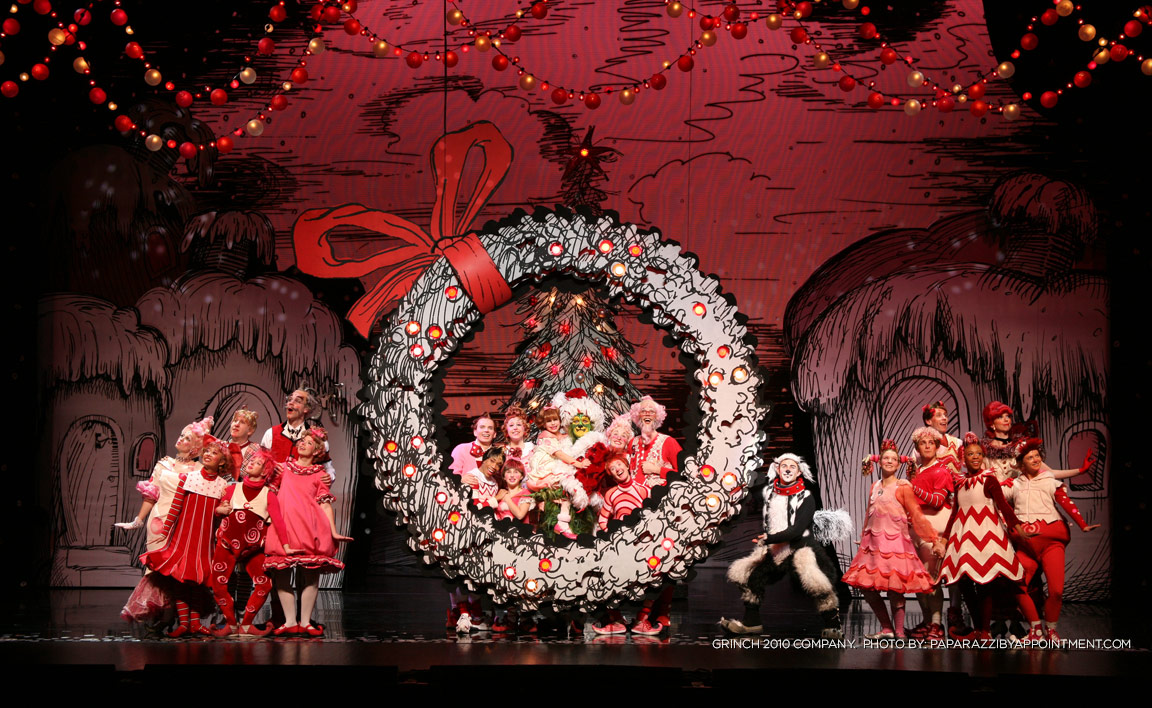How The Grinch Stole Christmas Costumes.Photos Dr Seuss How The Grinch Stole Christmas The Musical