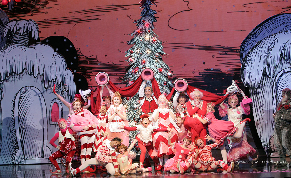 How The Grinch Stole Christmas Play 2020 Dr. Seuss' How the Grinch Stole Christmas The Musical