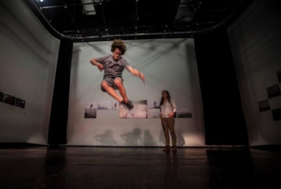 "BOOMERANG performing at ""Eyes on Bangladesh"" photography exhibition in Long Island City"