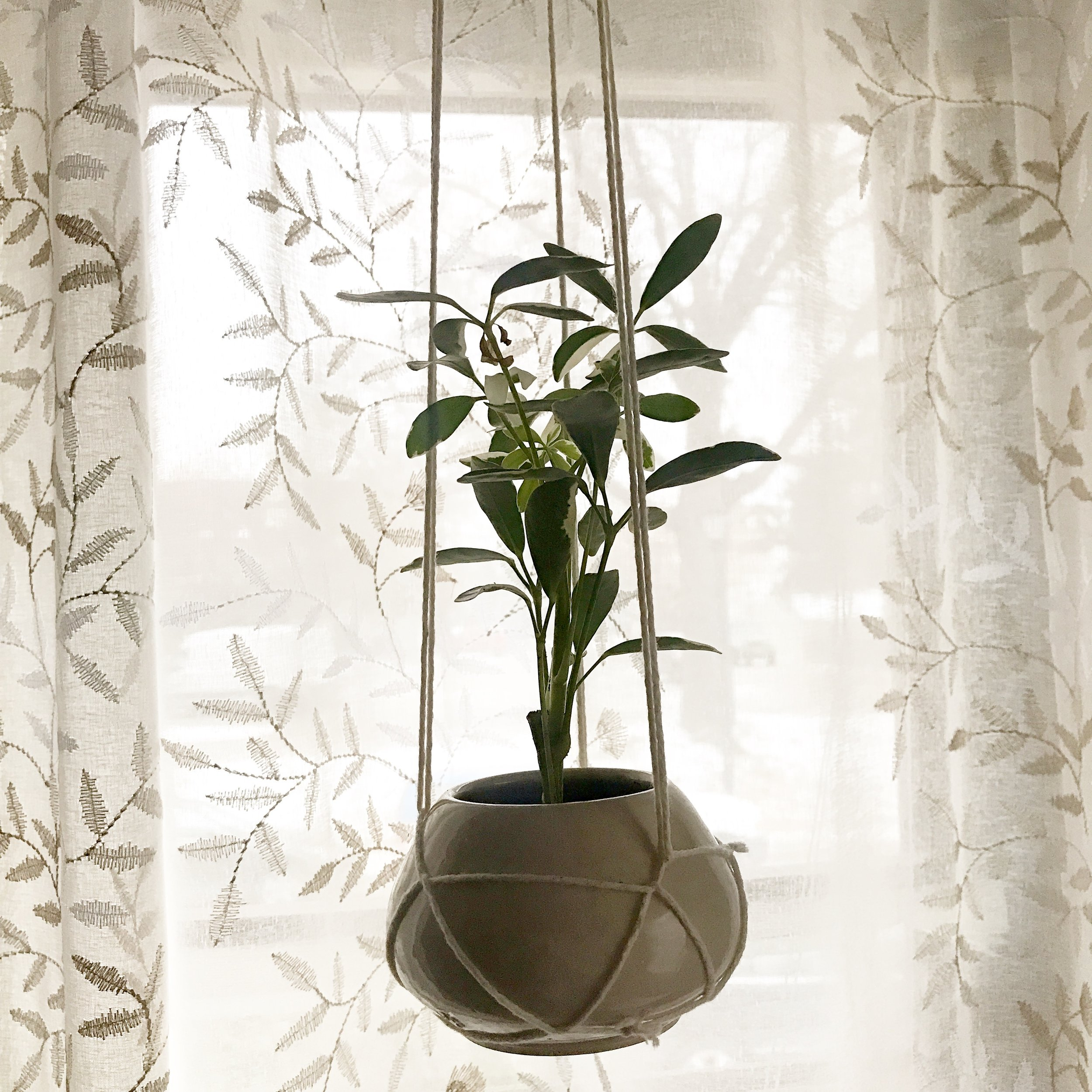 """Hanging Planter 116, $24 (2.75""""x4.25"""")"""