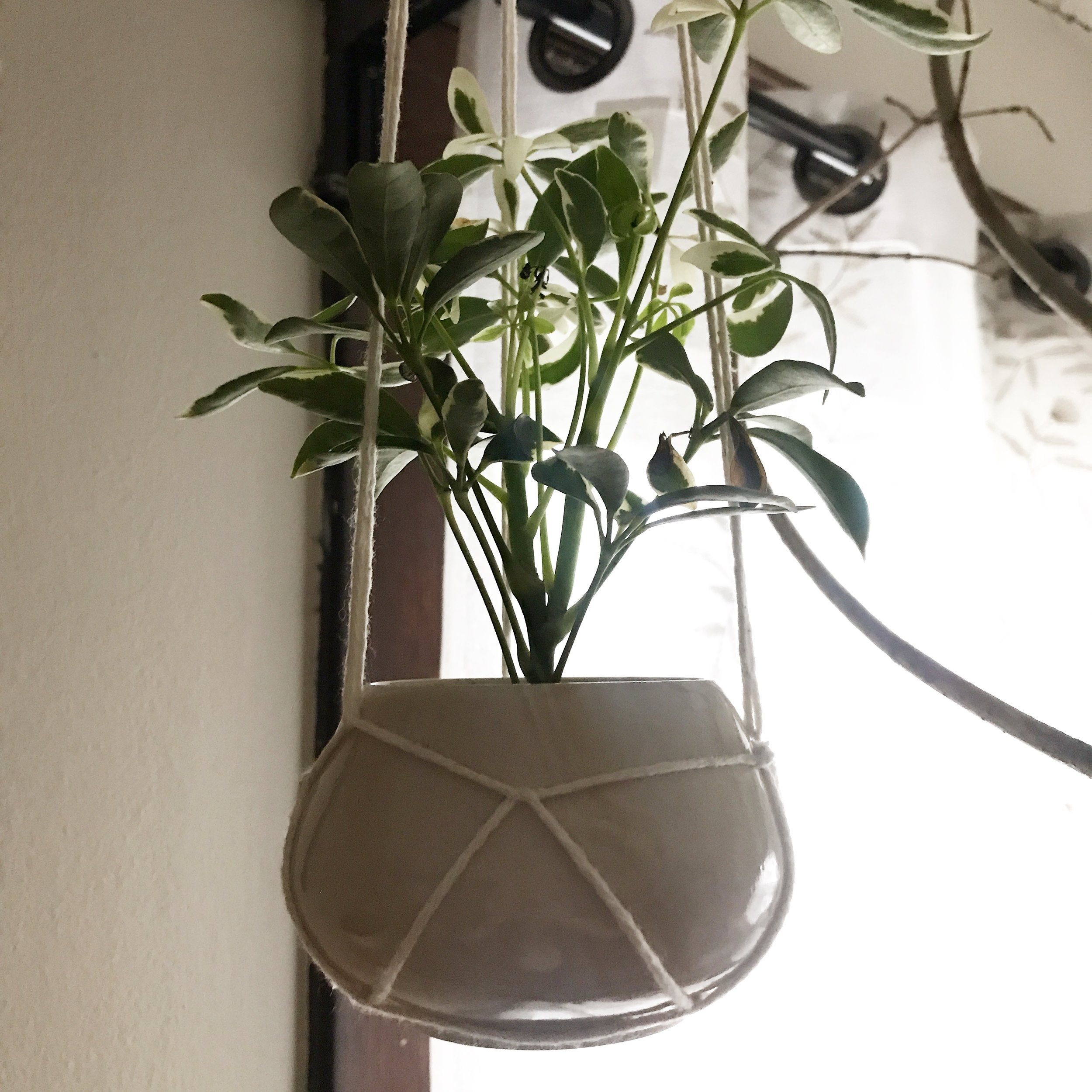 """Hanging Planter 117, $24 (2.75""""x4.25"""")"""