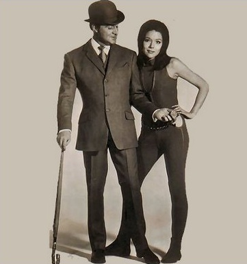Steed and Peel, because you have to look that good to catch bad guys