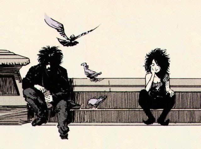 "Of course, the only question was ""Which Sandman image would I choose?"" I'm partial to this version, but off the top of my head, I can't think of a single subpar artist who ever worked on the book."