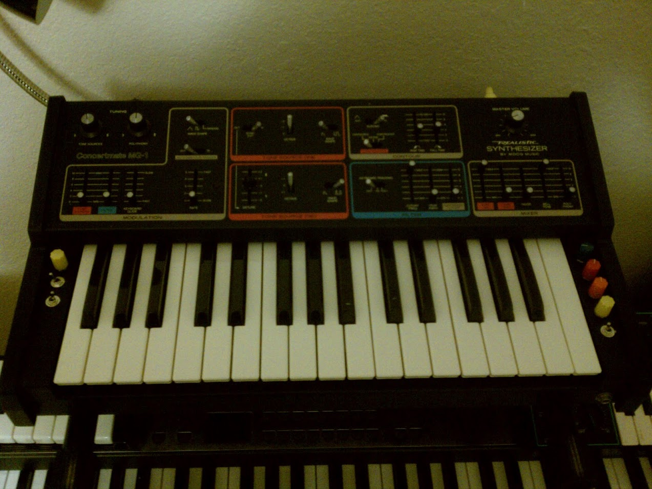Pictured: One of those synthesizers.
