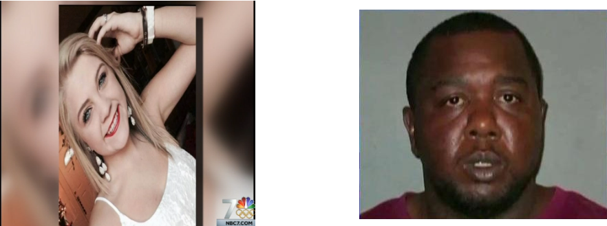 On the left the selfie the news chose to broadcast when reporting on a white woman arrested for the beating death of a homeless man. On the right is the mugshot the news used for the victim of police violence. The problem isn't just with law enforcement; it's everywhere.