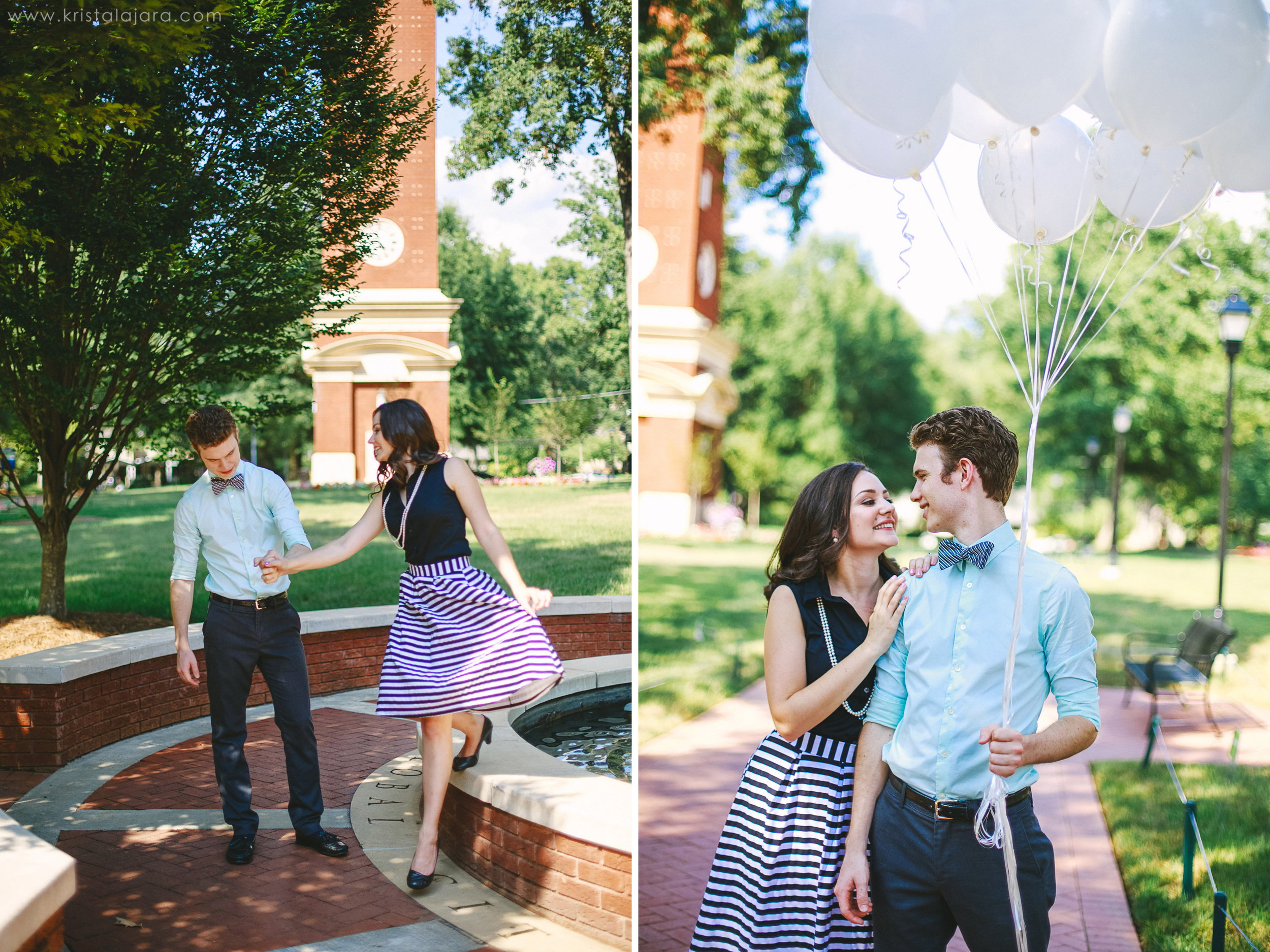 Kaitlyn + Christian // Queens University, Charlotte, NC // Krista Lajara Photography